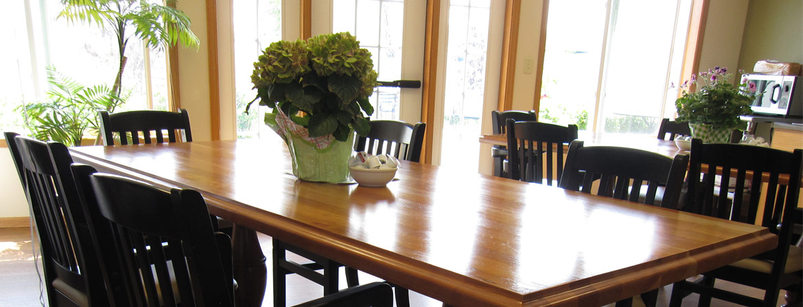 The Dining Room at Valley View Estates in Long Prairie, MN